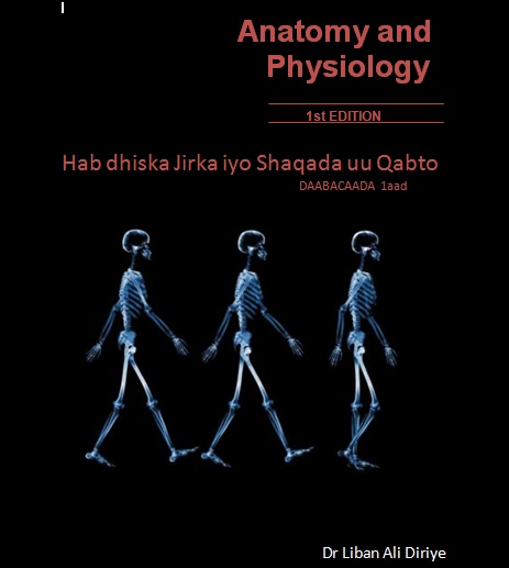 First Anatomy and Physiology Book in Somali Language